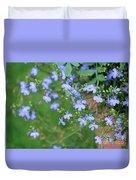 Lobelia Flowers Duvet Cover