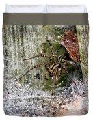 Lobo's Web Duvet Cover