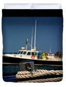Lobster Boat I Duvet Cover