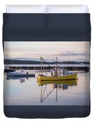 Lobster Boat Jonesport, Maine  Duvet Cover