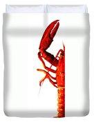 Lobster - The Left Side Duvet Cover