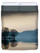 Loch Ard Reflection Duvet Cover