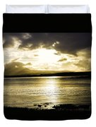 Loch Bracadale Sunset Duvet Cover
