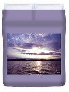 Loch Raven Sunrise Duvet Cover