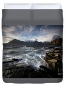 Loch Scavaig And The Cuillin Duvet Cover