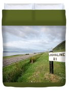 Lochaline This Way Duvet Cover