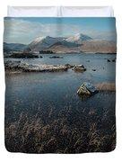 Lochan Nah-achlaise, Rannoch Moor, Scotland Duvet Cover
