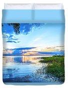 Lochloosa Lake Duvet Cover