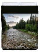 Lochsa Headwaters Duvet Cover