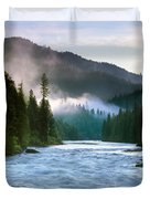 Lochsa River Duvet Cover