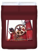 Locked In History Duvet Cover by Stephen Mitchell