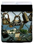 Locked Duvet Cover by Milan Mirkovic