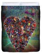Locket Heart-4 Duvet Cover