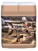 Lockheed F-94 Model C Starfire Duvet Cover