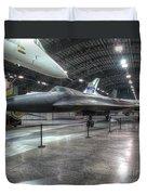 Lockheed Yf-12a Duvet Cover