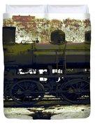 Locomotive Vector Duvet Cover