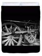 Locomotive Wheels Duvet Cover