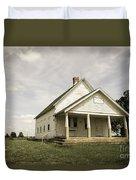 Locust Prairie One Room School Aged Duvet Cover