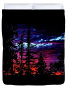Lodge Sunset Duvet Cover