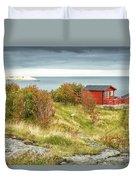 Lofoten Cabins 2 Duvet Cover