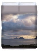 Lofoten Sunset 4 Duvet Cover