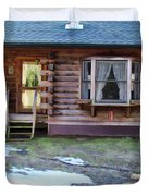 Log Cabin 1 Duvet Cover