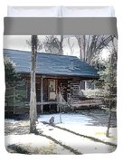 Log Cabin 2 Duvet Cover
