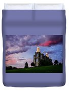 Logan Temple Heaven's Light Duvet Cover