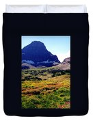 Logans Pass In Glacier National Park Duvet Cover