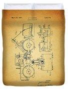 Logging Truck Patent Duvet Cover