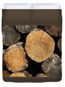 Logs Duvet Cover