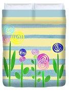 Lollipop Flower Bed Duvet Cover