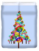 Lollipop Tree Duvet Cover