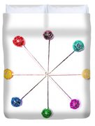 Lollipop Wheel Duvet Cover