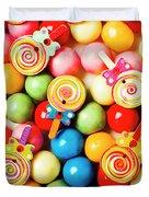 Lolly Shop Pops Duvet Cover