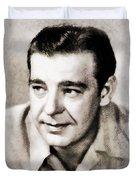 Lon Chaney, Vintage Actor Duvet Cover