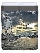 London A View From A Bridge  Duvet Cover