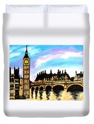 London After Eight Duvet Cover