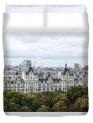 London Along The River Thames Duvet Cover
