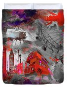 London Art 56 Duvet Cover