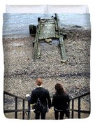 London Beach Duvet Cover