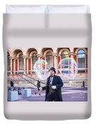 London Bubbles 4 Duvet Cover