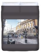 London Bubbles 8 Duvet Cover