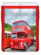 London Bus Duvet Cover