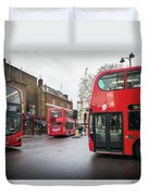 London Buses Duvet Cover
