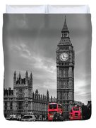 London Buses Duvet Cover