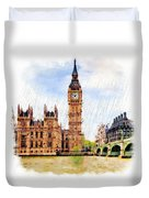 London Calling Duvet Cover