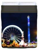 London Christmas Markets 12 Duvet Cover