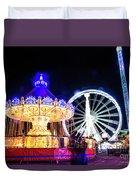 London Christmas Markets 17 Duvet Cover