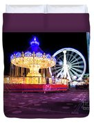 London Christmas Markets 19 Duvet Cover